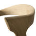 Bok Chair - / Solid oak Leather seat by Ethnicraft