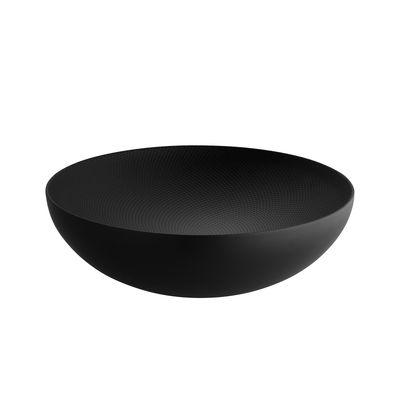 Coupe Double Ø 25 cm Alessi noir en métal