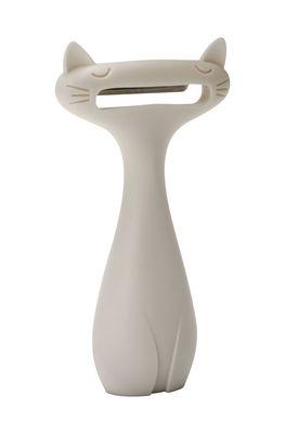 Epluche-légumes Catpeeler - Pa Design blanc en matière plastique