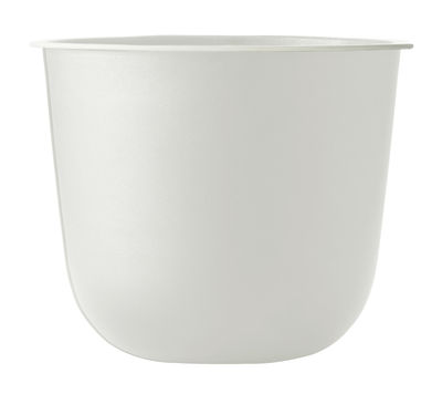 Outdoor - Pots & Plants - Wire Flowerpot by Menu - White - Mat laquered steel, Silicone