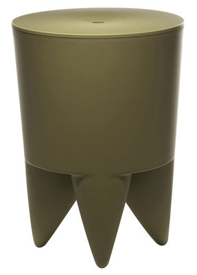 Möbel - Möbel für Teens - New Bubu 1er Hocker Opak - XO - Kaki - Polypropylen