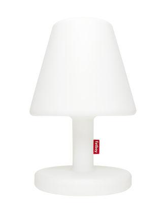 Lampe de sol Edison the Grand Bluetooth / H 90 cm - LED - Fatboy blanc en matière plastique