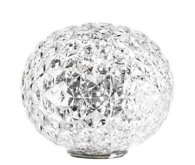 Lampe de table Planet / LED - H 28 cm - Kartell cristal en matière plastique