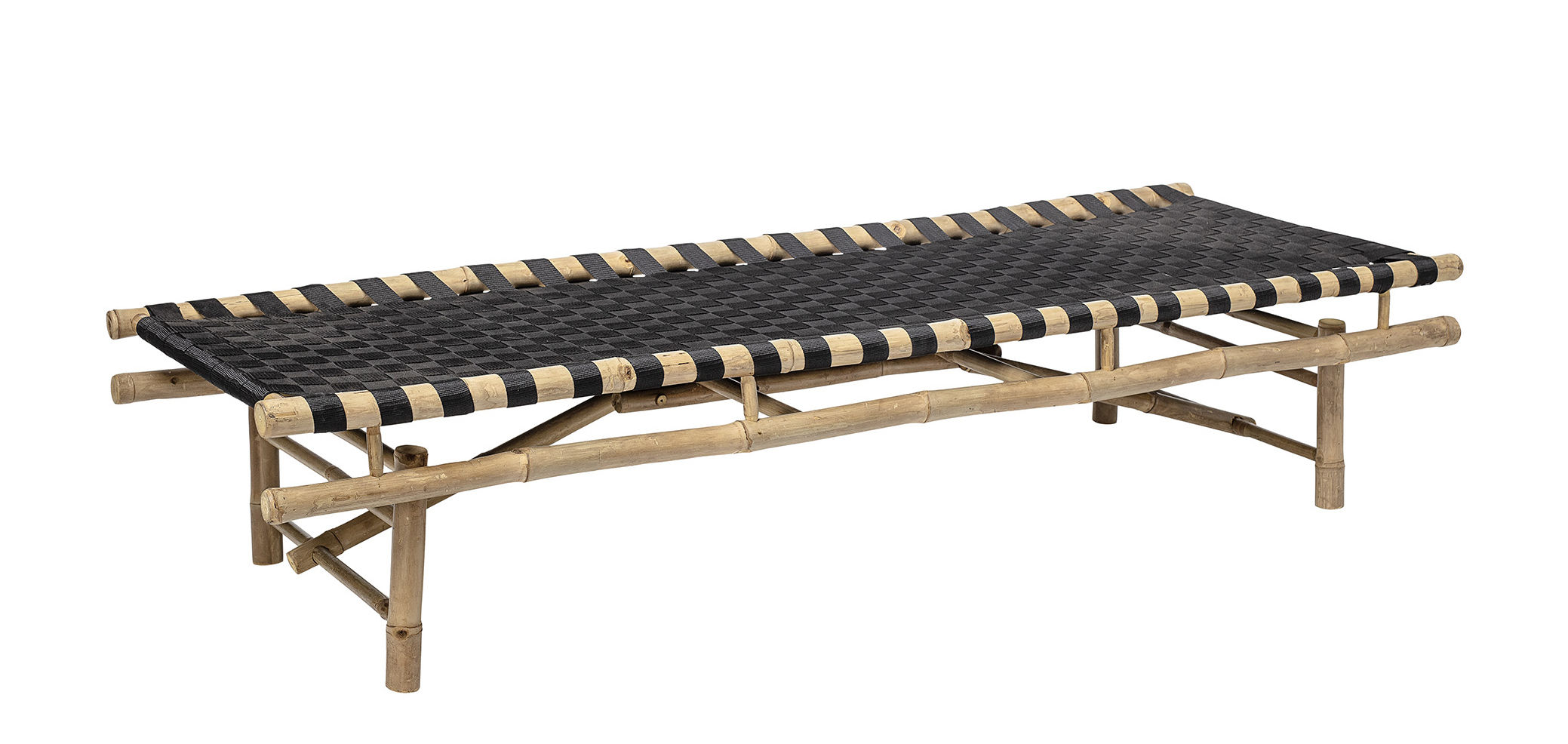 lit de jour vida bloomingville bois naturel made in design. Black Bedroom Furniture Sets. Home Design Ideas