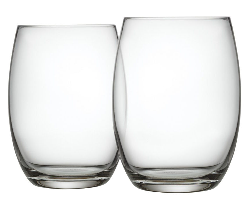 Tableware - Wine Glasses & Glassware - Mami XL Long drink glass by Alessi - Transparent - Crystalline glass
