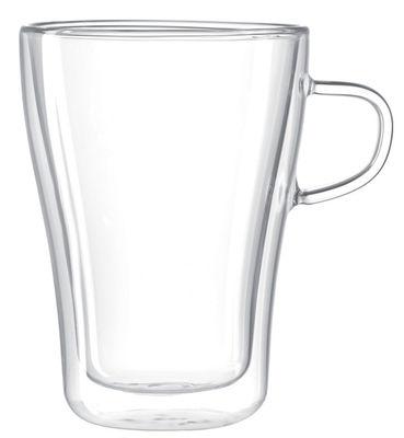 Arts de la table - Tasses et mugs - Mug Duo / 250 ml - Leonardo - 250 ml / Transparent - Verre