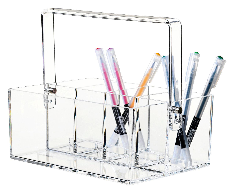 Accessori moda - Accessori ufficio - Organizzatore d'ufficio Clear - / Portatrucchi di Nomess - Trasparente - Acrilico