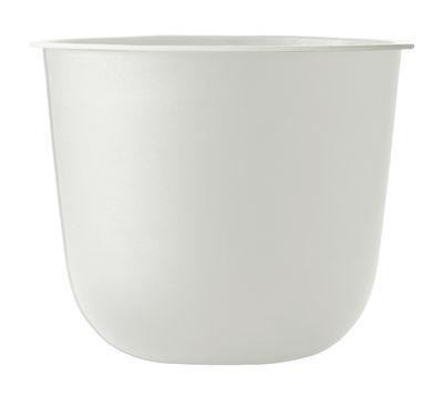 Pot de fleurs Wire - Menu blanc en métal