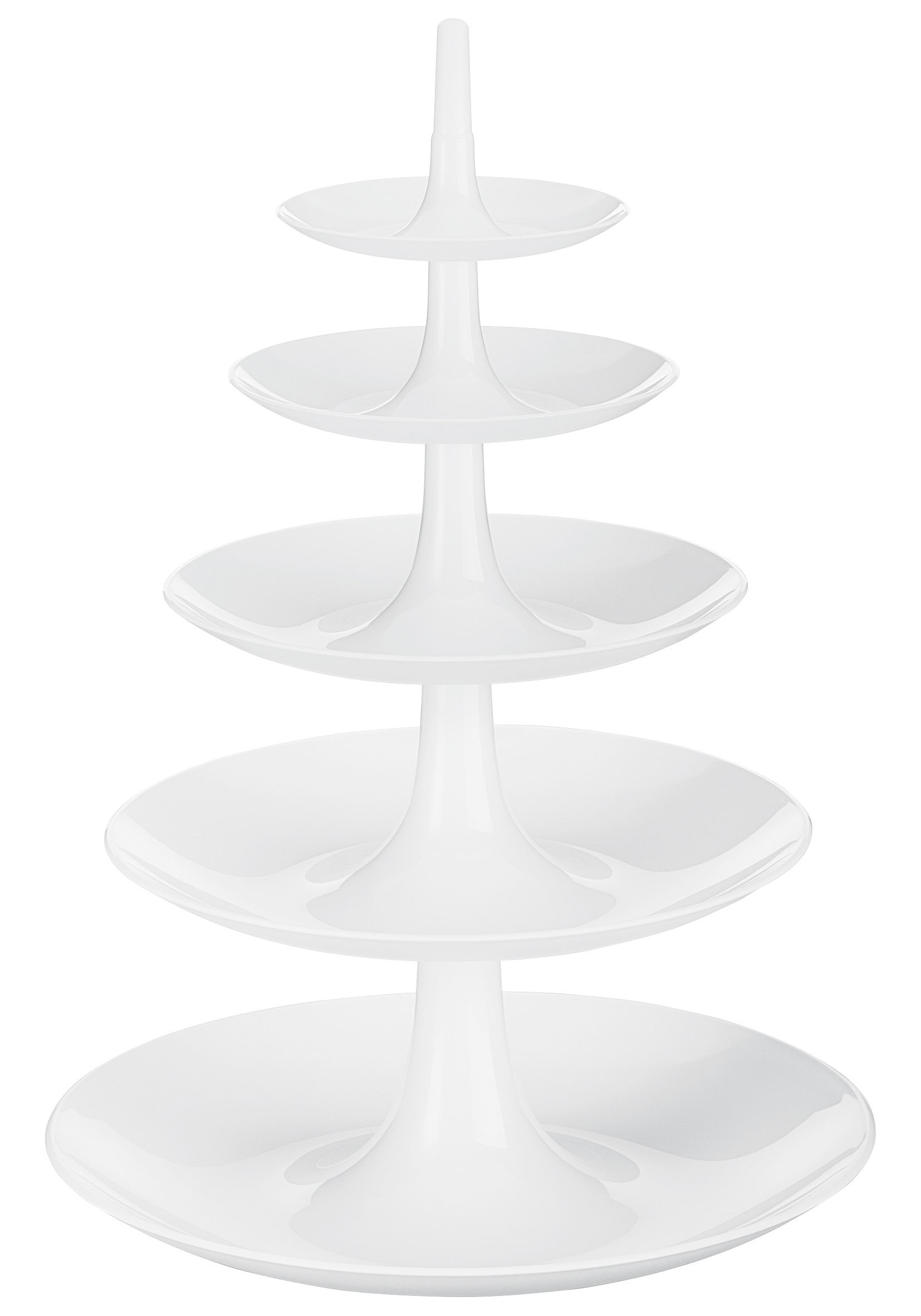 Kitchenware - Cool Kitchen Gadgets - Babell XXL Presentation dish by Koziol - Solid white - Polycarbonate