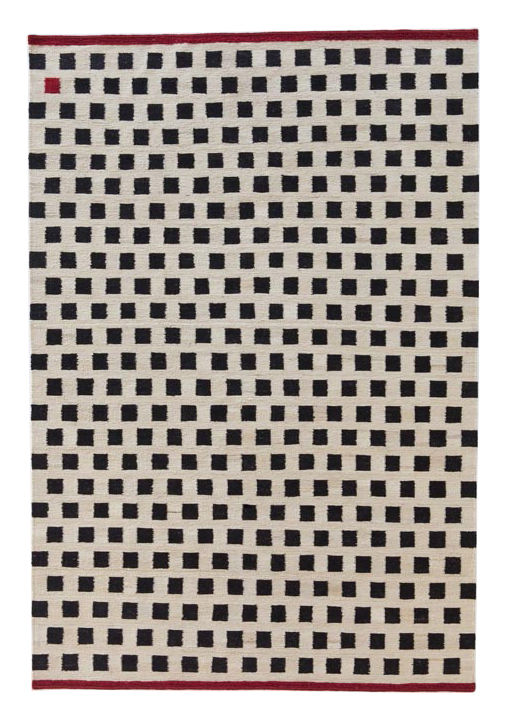 Decoration - Rugs - Mélange - Pattern 3 Rug - 170 x 240 cm by Nanimarquina - 170 x 240 cm / Squares - Afghan wool