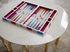 Set di Backgammon Rainbow - / Cofanetto laccato di Jonathan Adler