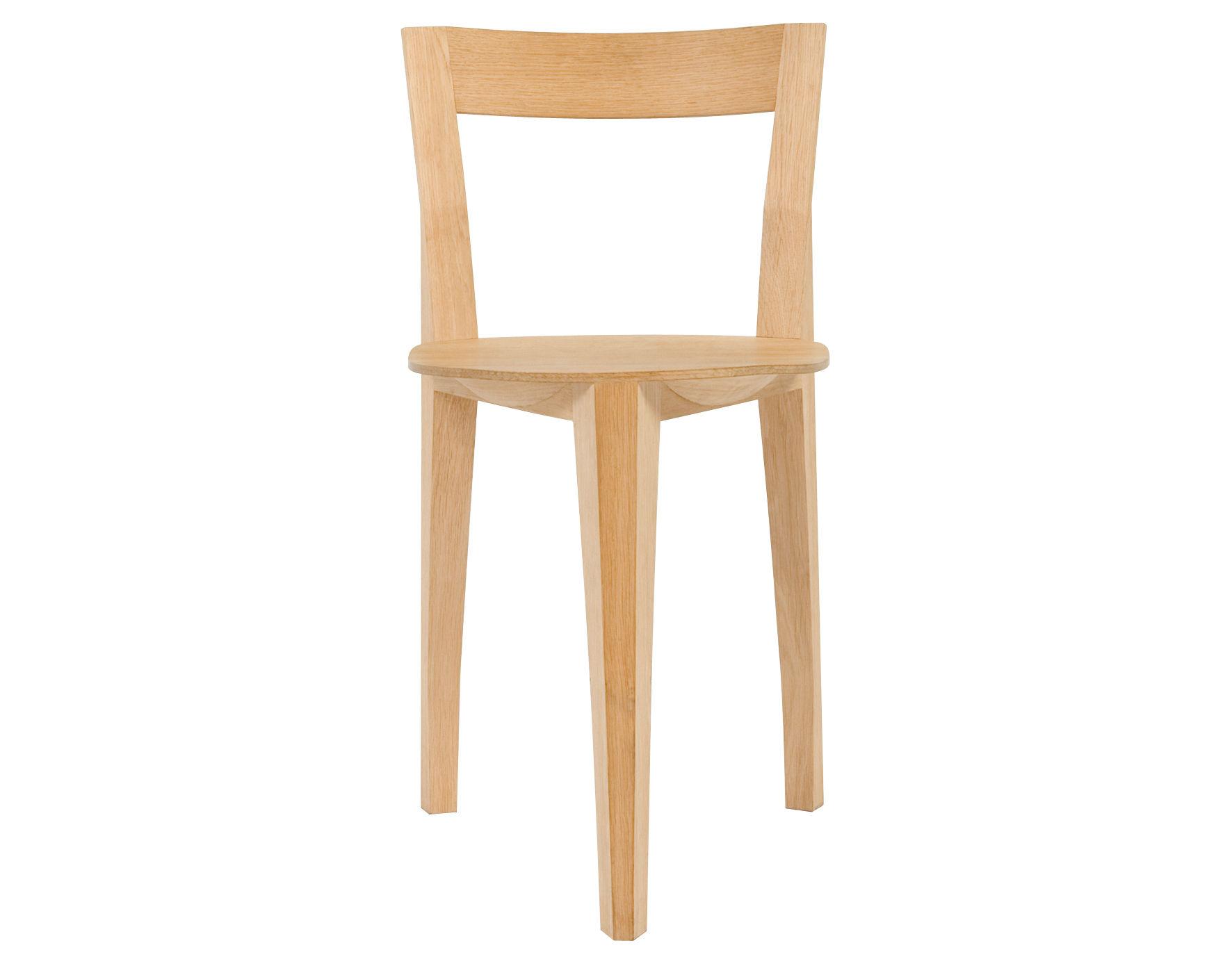 Möbel - Stühle  - Petite Gigue Stuhl - Moustache - Helles Holz - Eiche