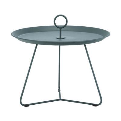 Mobilier - Tables basses - Table basse Eyelet Medium / Ø 60 x H 43,5 cm - Métal - Houe - Vert sapin - Métal laqué époxy