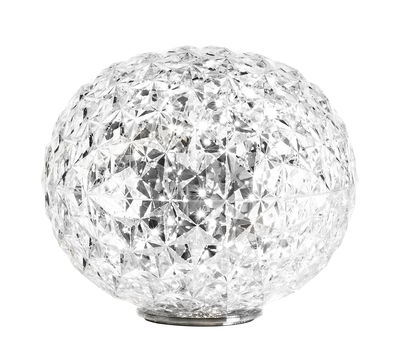Lighting - Table Lamps - Planet Table lamp - LED - Ø 33 cm by Kartell - Crystal - Thermoplastic technopolymer