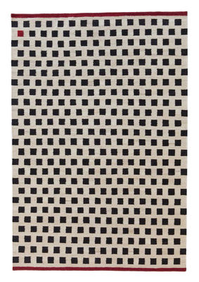 Tapis Mélange - Pattern 3 / 170 x 240 cm - Nanimarquina blanc,rouge,noir en tissu
