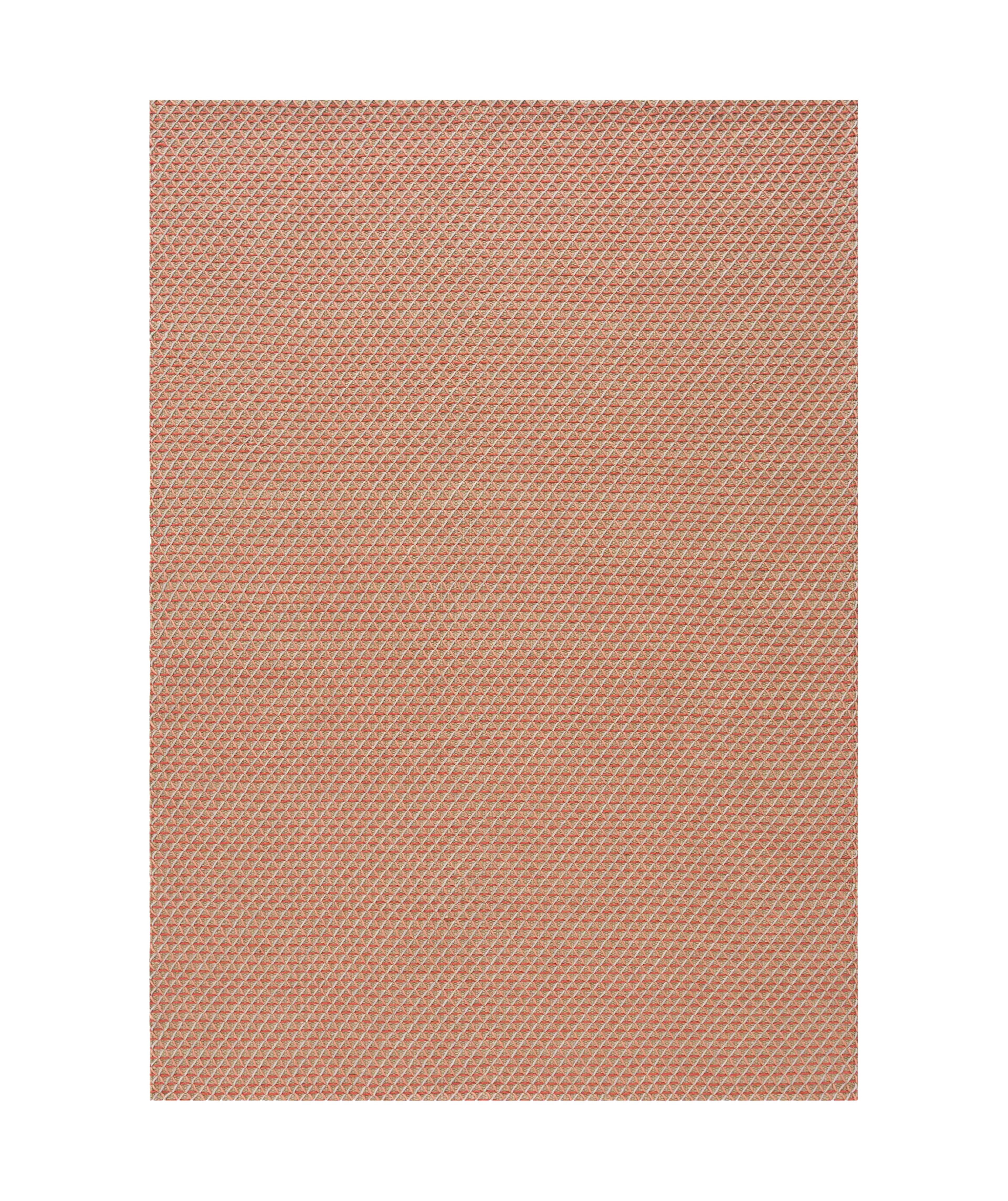 Interni - Tappeti - Tappeto Raw / 170 x 240 cm - Iuta & lana - Gan - Rose/ Iuta naturale - Jute naturelle, Lana