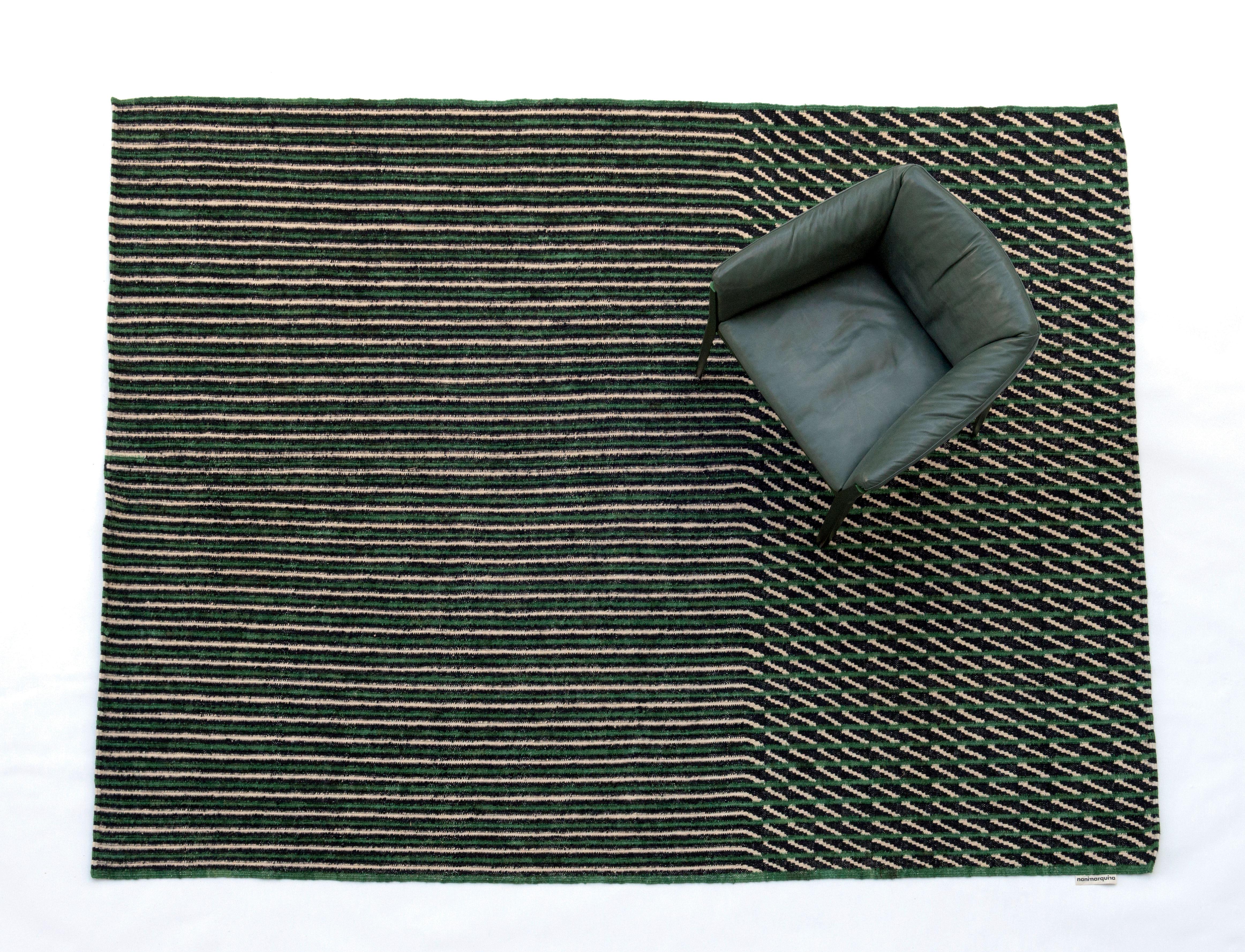 Blur Teppich Afghanische Wolle 170 X 240 Cm Grun By
