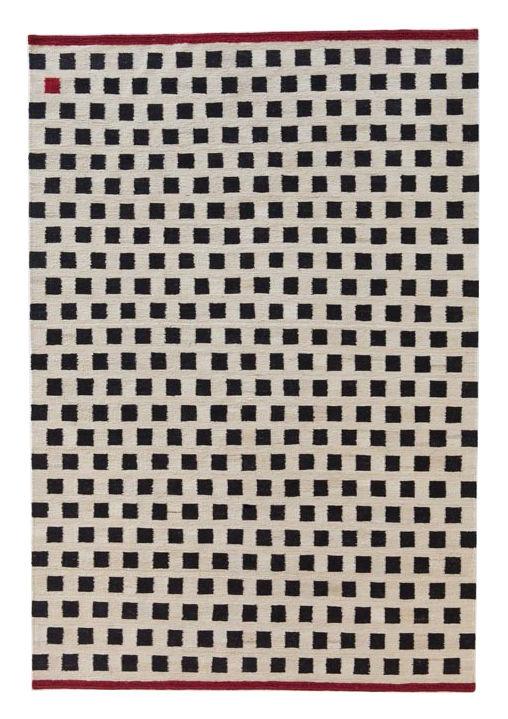 Dekoration - Teppiche - Mélange - Pattern 3 Teppich / 170 x 240 cm - Nanimarquina - 170 x 240 cm / Kästchenmuster - Wolle, afghanisch