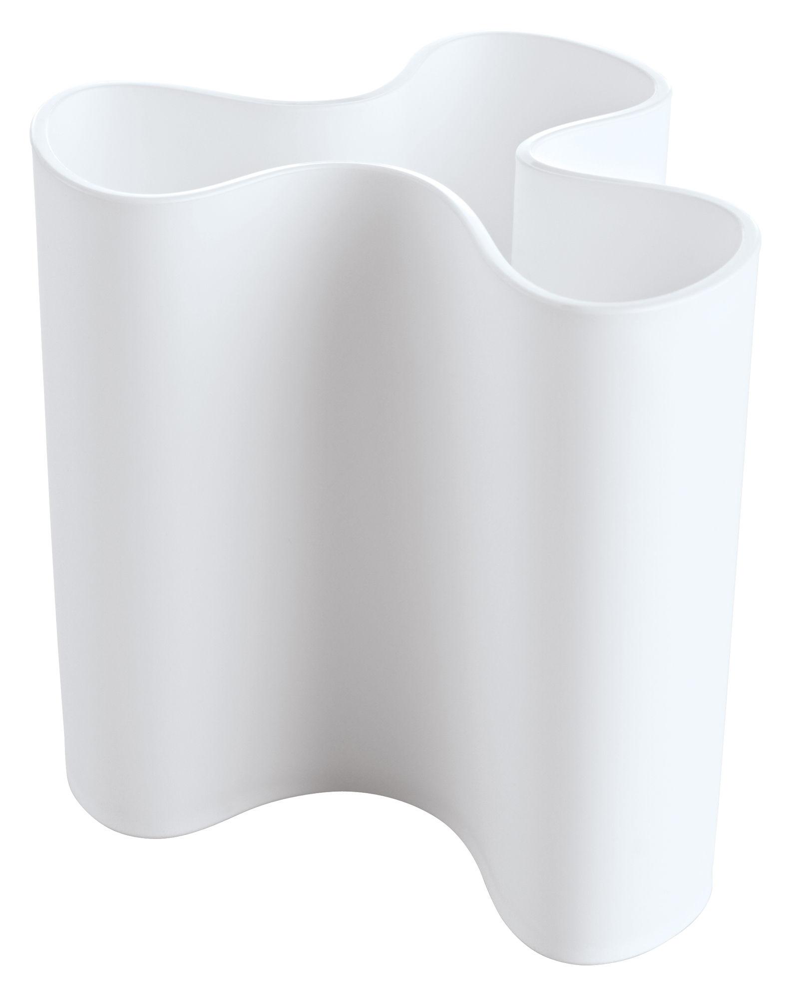 Decoration - Vases - Clara Vase by Koziol - White - Plastic material