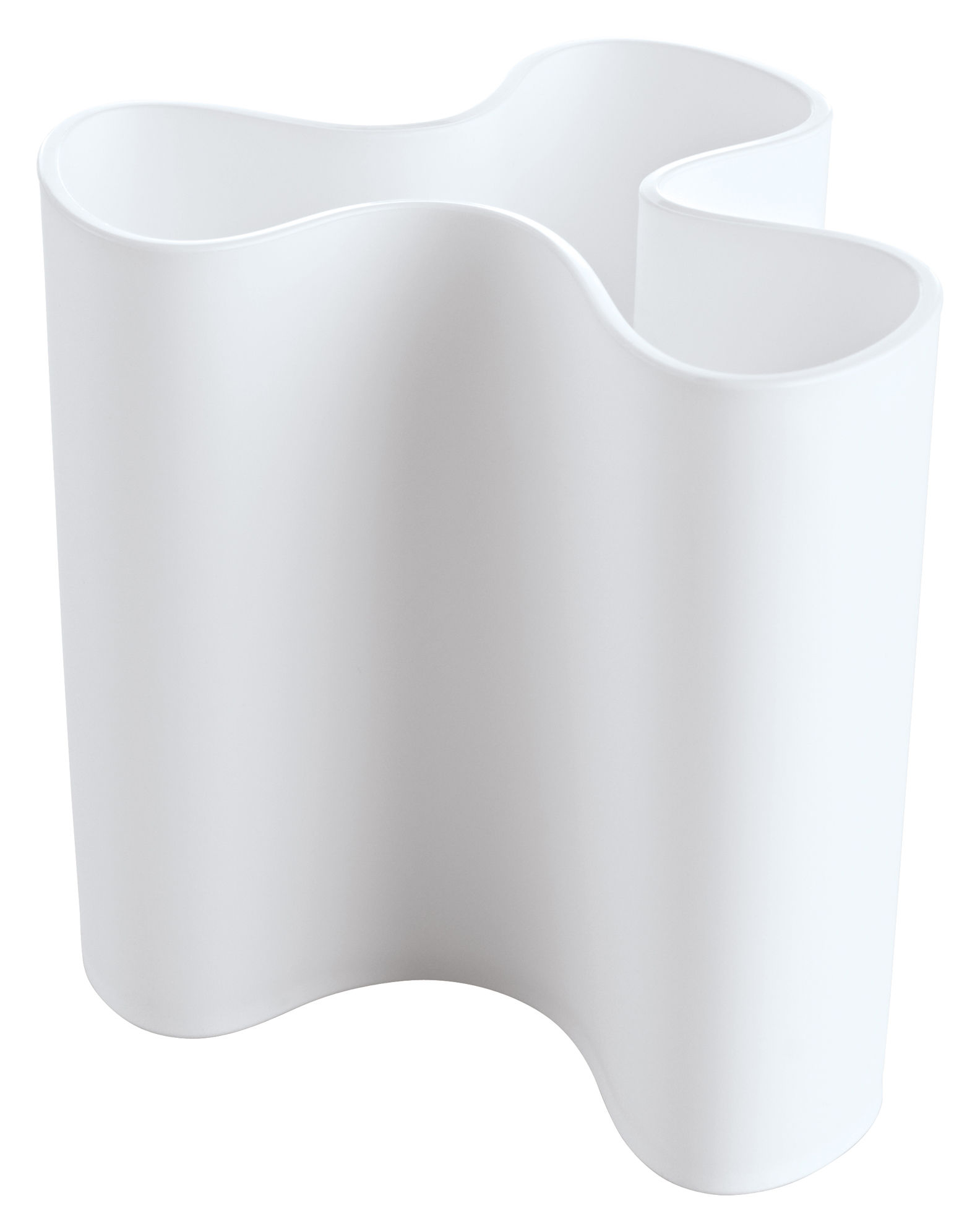 Interni - Vasi - Vaso Clara di Koziol - Bianco - Materiale plastico