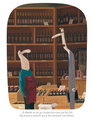 Déco - Objets déco et cadres-photos - Affiche Voutch - Caviste / 30 x 40 cm - Image Republic - Caviste - Papier