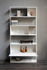 Easy Irony Bookcase - / With drawer units - L 104 x H 226 cm by Zeus