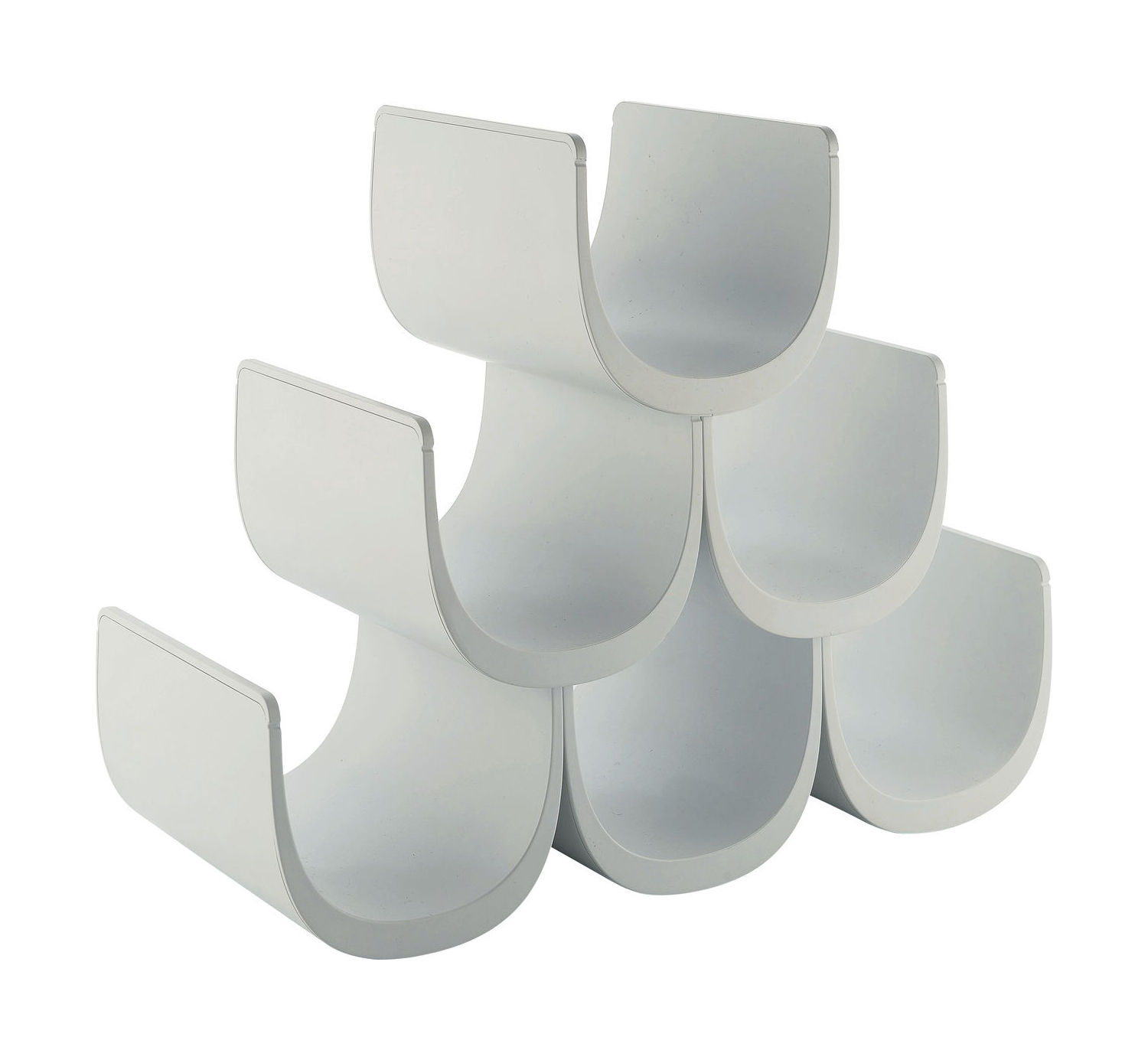 Tableware - Wine Accessories - Noè Bottle rack by Alessi - White - Thermoplastic resin