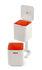 Cestino per raccolta differenziata Totem Compact 40L - / 2 vani 20L + 1 per rifiuti organici 3L di Joseph Joseph