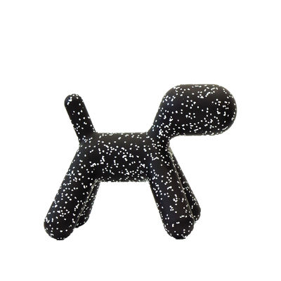 Furniture - Kids Furniture - Puppy Small Decoration - / L 42 cm - Limited Christmas 2019 edition by Magis Collection Me Too - Black / White markings - roto-moulded polyhene