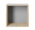 Etagère Mini Stacked 2.0 / Medium carré 33x33 cm / Avec fond coloré - Muuto