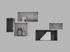 Etagère Mini Stacked 2.0 / Large rectangulaire 49x24 cm / Avec fond - Muuto