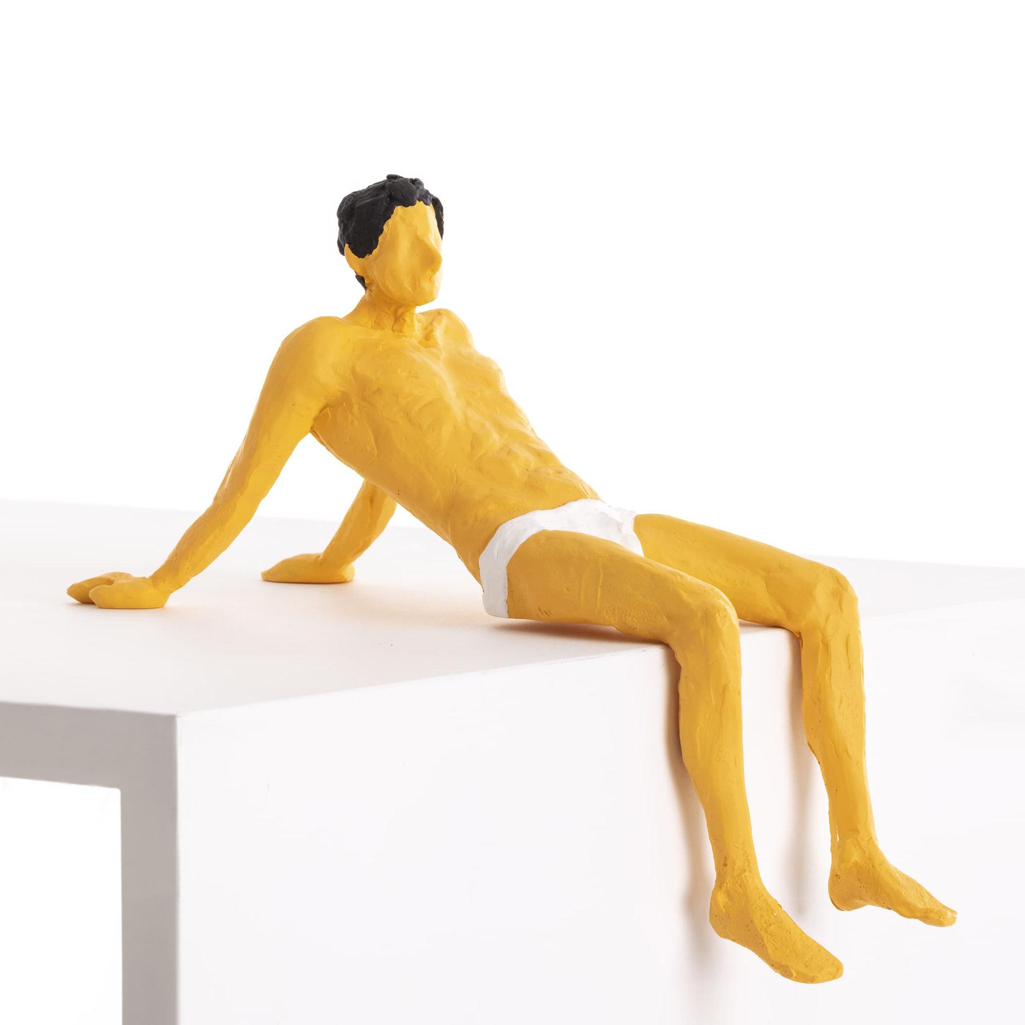 Interni - Oggetti déco - Figurina Love is a Verb - / Pierrot di Seletti - Pierrot - Resina