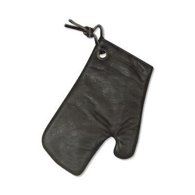 Gant de cusine / Cuir - Dutchdeluxes gris vintage en cuir