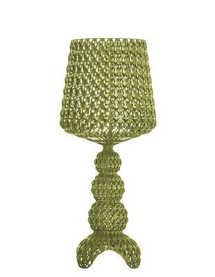 Lampe à poser Mini Kabuki / LED - Kartell vert en matière plastique