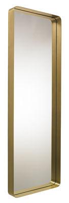 Miroir Cypris / à poser ou suspendre - 60 x 180 cm - ClassiCon or,argent en métal
