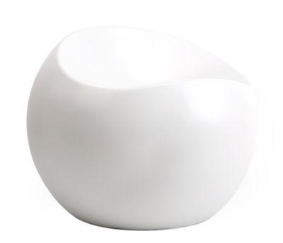 Pouf Ball Chair / Finition mate - XL Boom gris en matière plastique