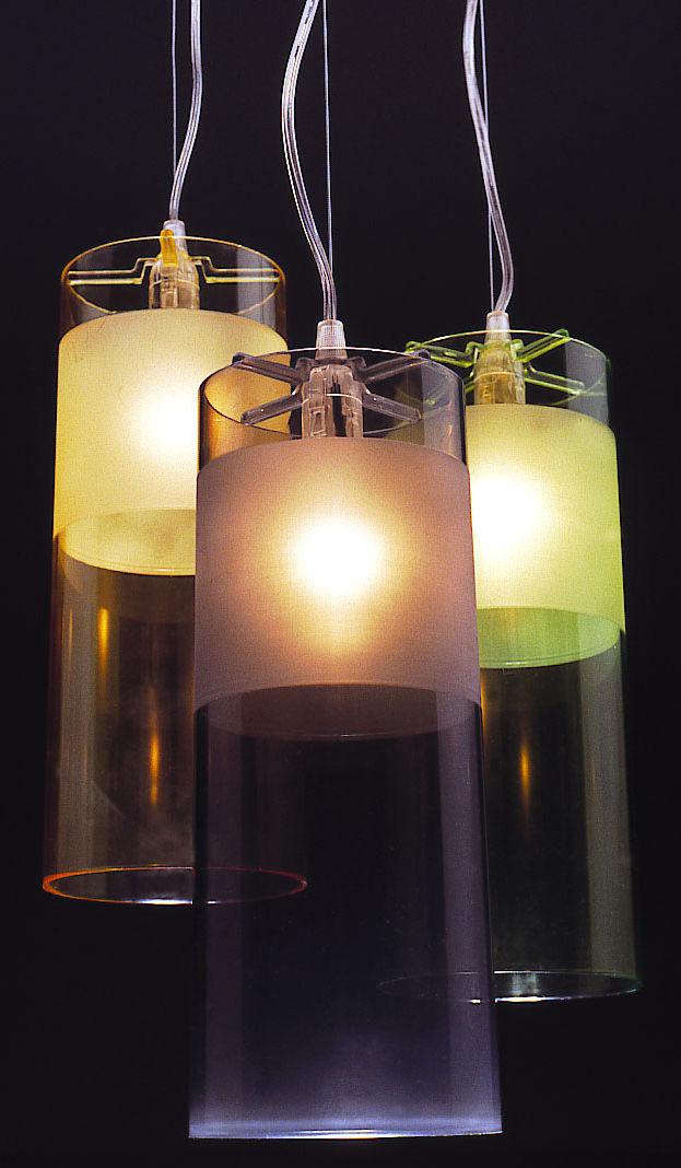 suspension easy kartell bleu made in design. Black Bedroom Furniture Sets. Home Design Ideas