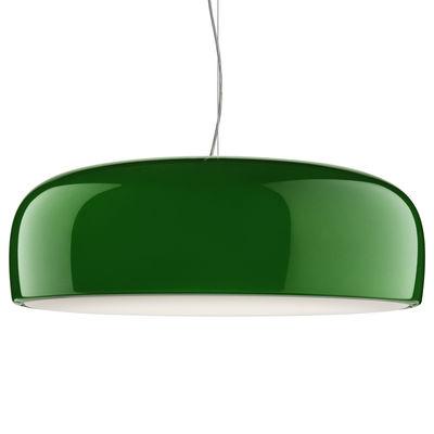 Luminaire - Suspensions - Suspension Smithfield / Ø 60 cm - Aluminium - Flos - Vert - Aluminium peint