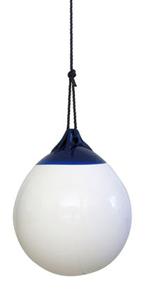 Outdoor - Ornaments & Accessories - Ball Swing by FAB design - White, blue rope - Polyester, PVC