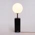 Toiletpaper - Black Lipsticks Table lamp - / China & glass - H 70 cm by Seletti