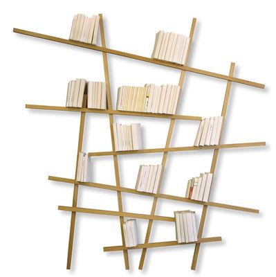 Furniture - Bookcases & Bookshelves - Mikado Bookcase - Natural wood - Large by Compagnie - Oak - Oak