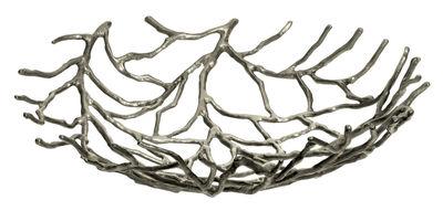 Corbeille Kachnar III / Ø 40 cm - Driade Kosmo argent/métal en métal