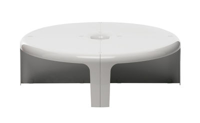 Möbel - Couchtische - 4-4 Couchtisch / Regal - Set aus 4 Einzel-Elementen - B-LINE - Weiß - ABS