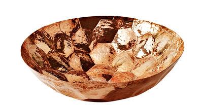 Arts de la table - Saladiers, coupes et bols - Coupe Hex / Small Ø 18 cm - Tom Dixon - Cuivre / Ø 18 cm - Cuivre martelé