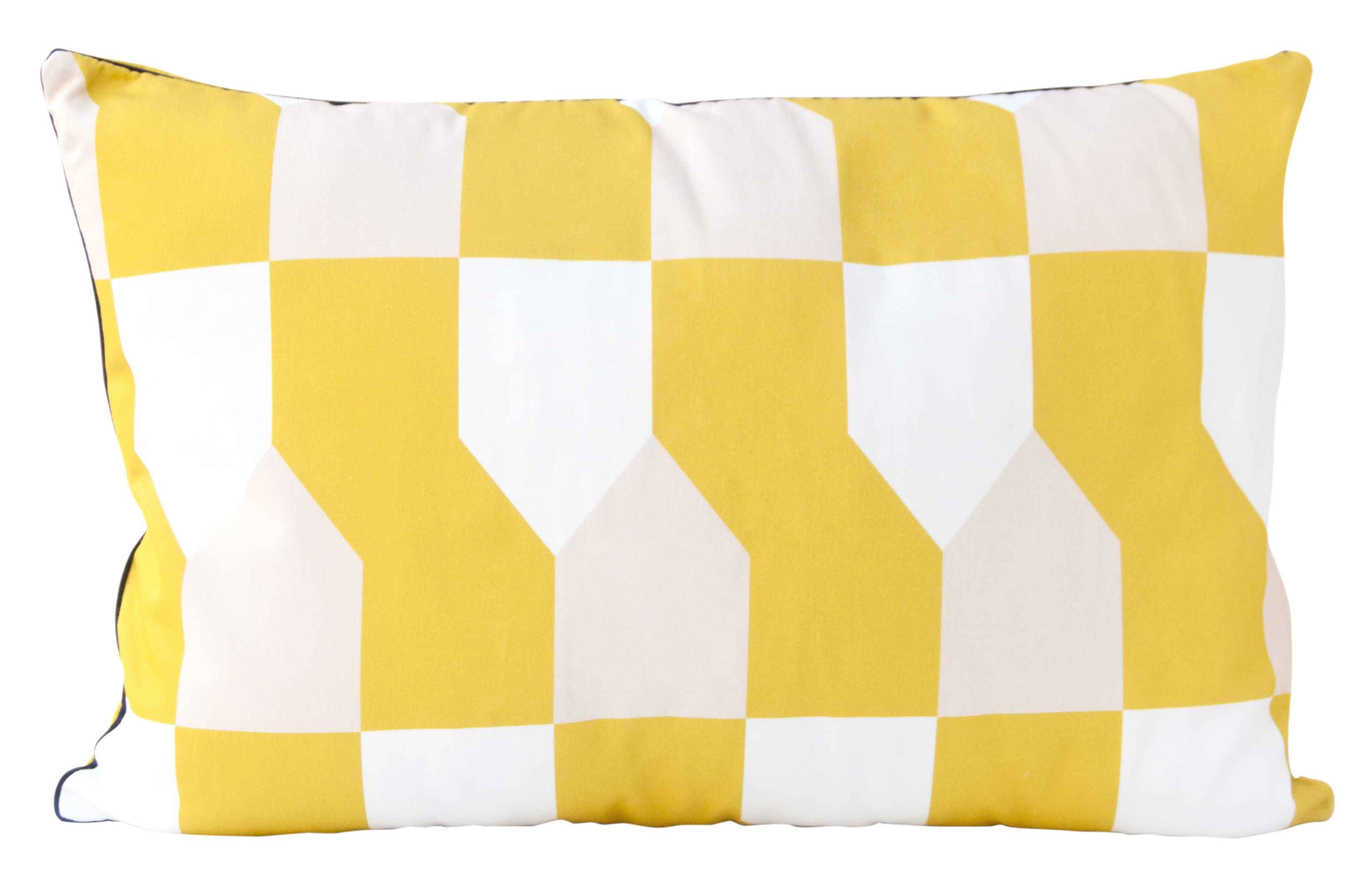 coussin octave / 60 x 40 cm jaune moutarde - hartô | made in design