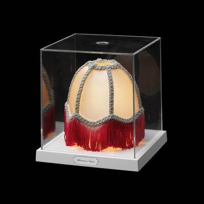 Luminaire - Lampes de table - Lampe de table Teca Mini - Renaissance Cupola - Flos - Renaissance Cupola - Matière plastique, Tissu