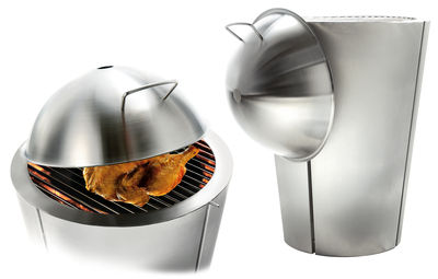 Outdoor - Barbecues & Charcoal Grills - Lid - For the Eva Solo BBQ by Eva Solo - Steel - Stainless steel