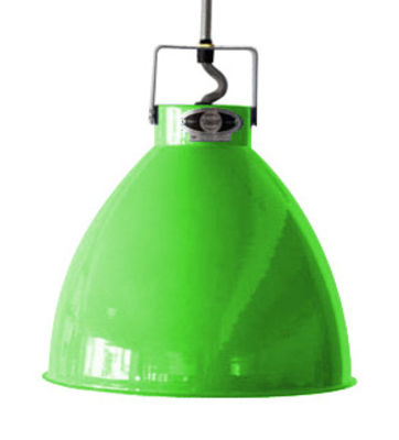 Augustin Pendelleuchte Medium / Ø 24 cm - Jieldé - Glänzend- Apfelgrün