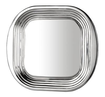 Plateau Form Tom Dixon acier poli en métal
