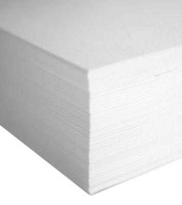 Recharge / bloc feuilles A6 pour carnet Silicon - Mark´s blanc en matière plastique